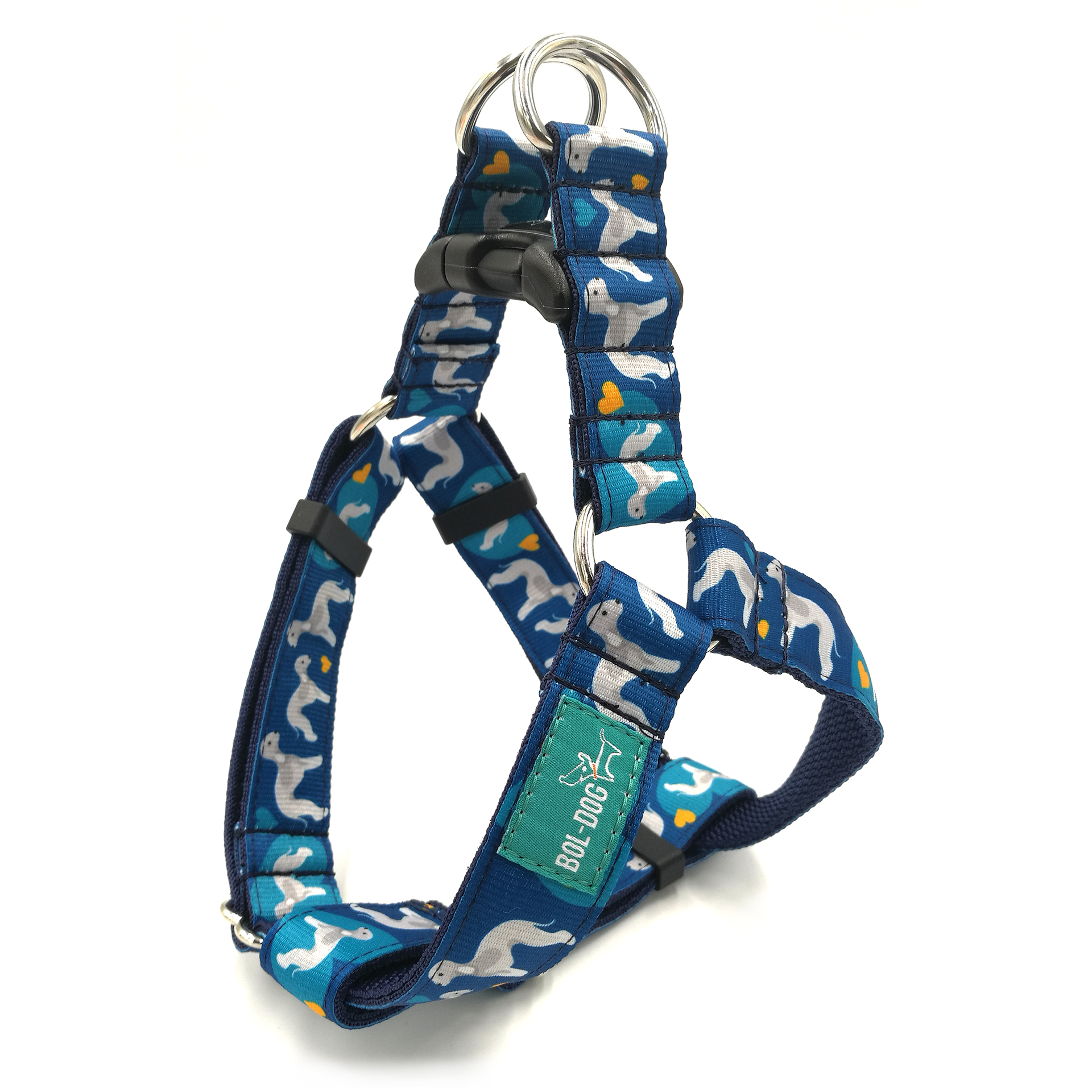 Bedlington dog harness