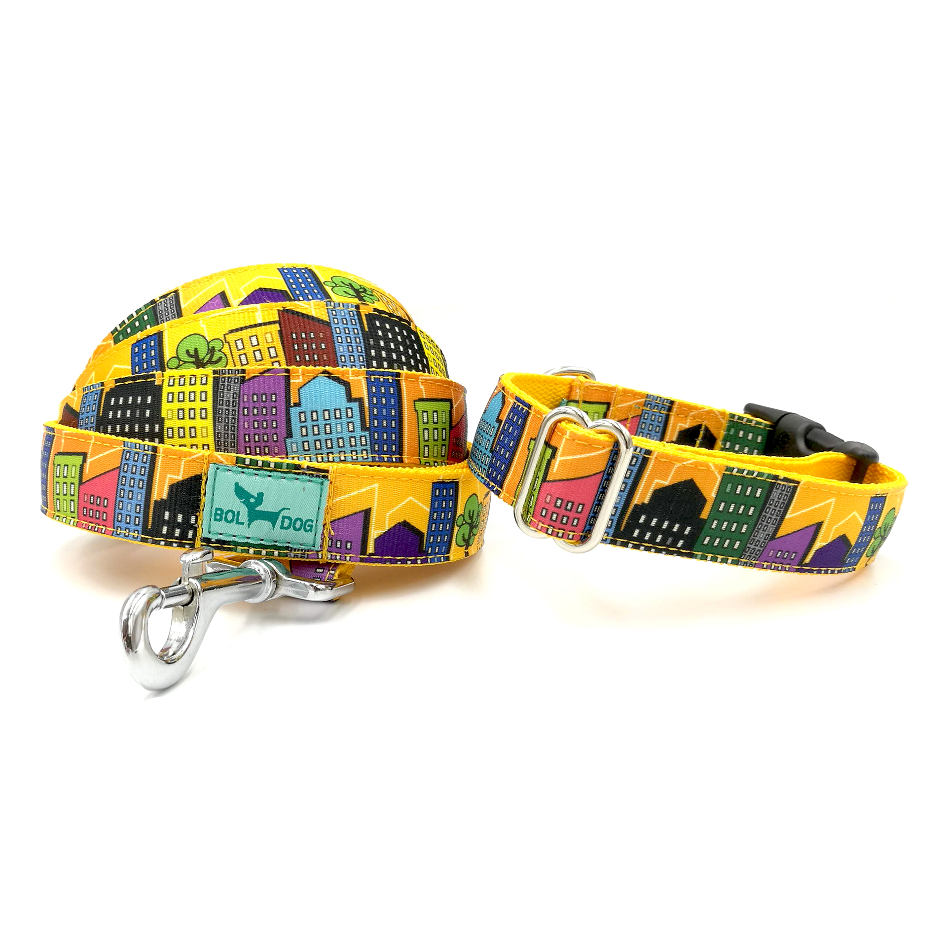 house patterned leash
