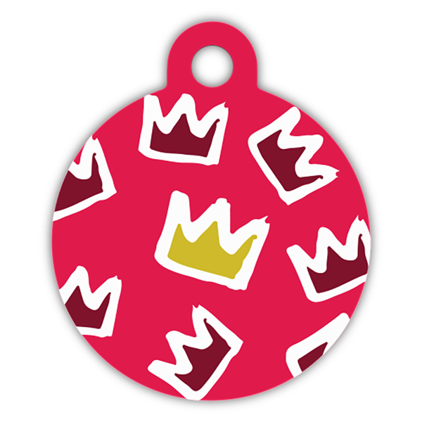 Princess Dog ID tag