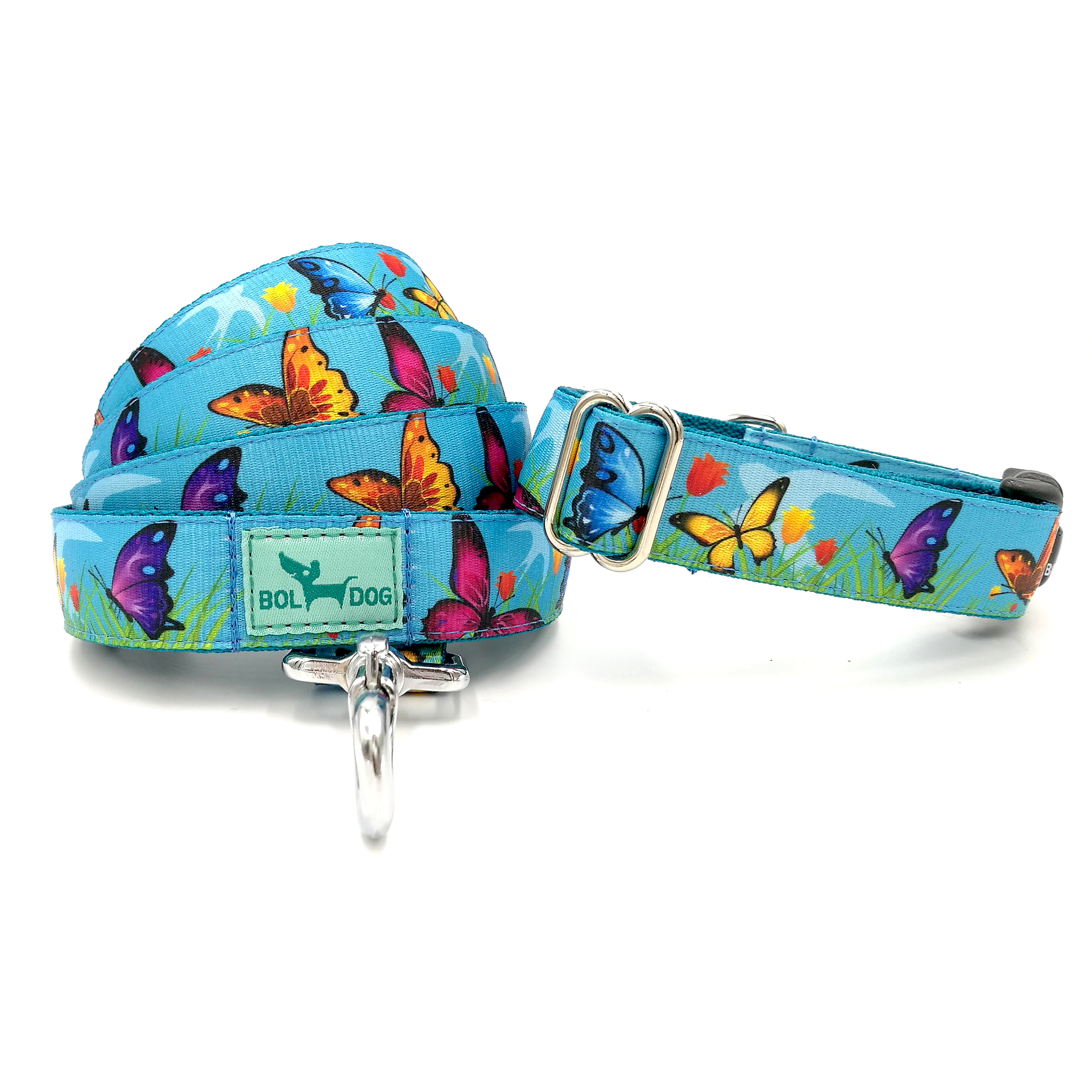 butterfly patterned leash