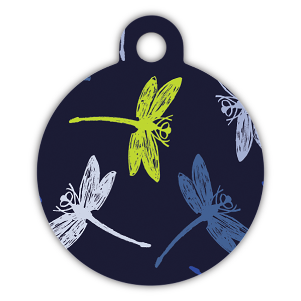 Dragonfly dog ID tag