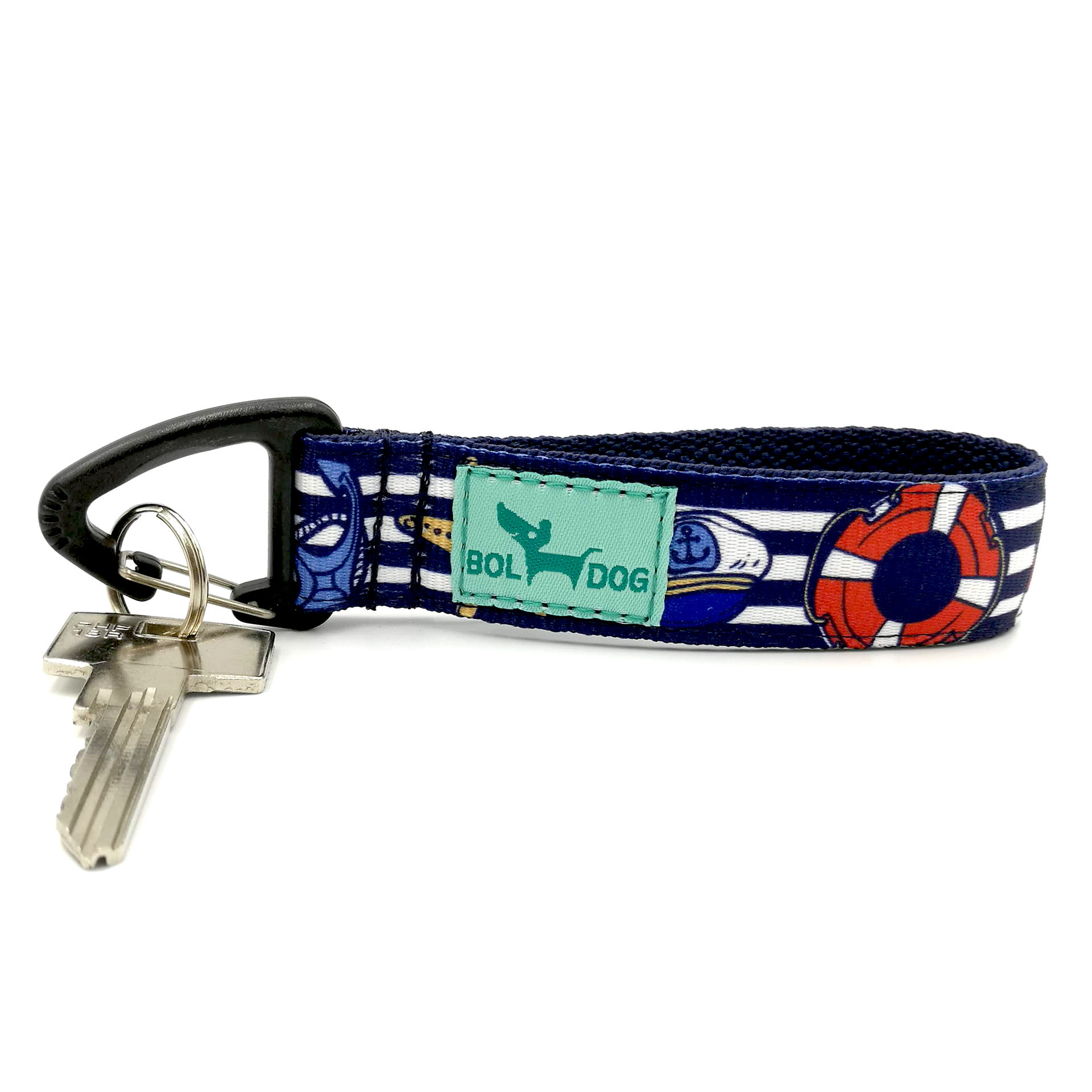 Marine blue key holder
