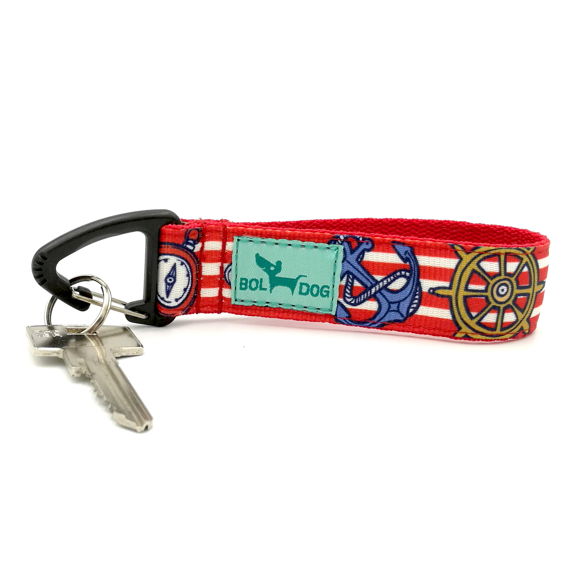 Marine red key holder