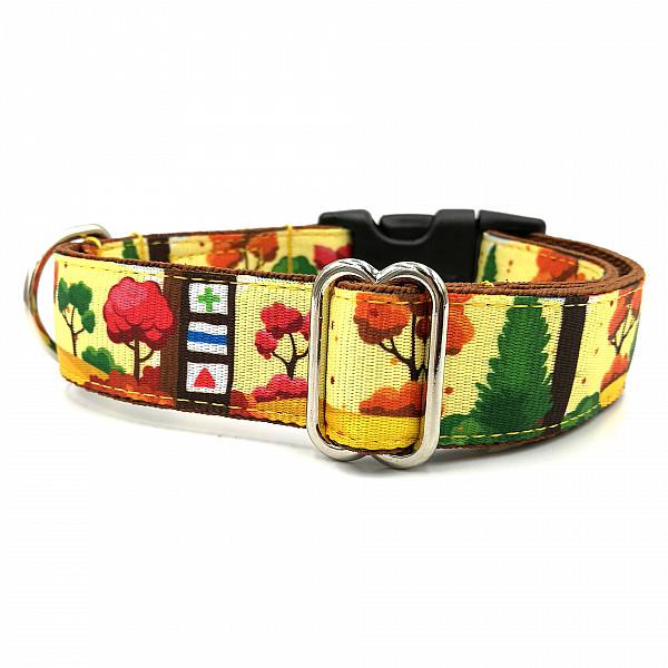 Hiking dog collar