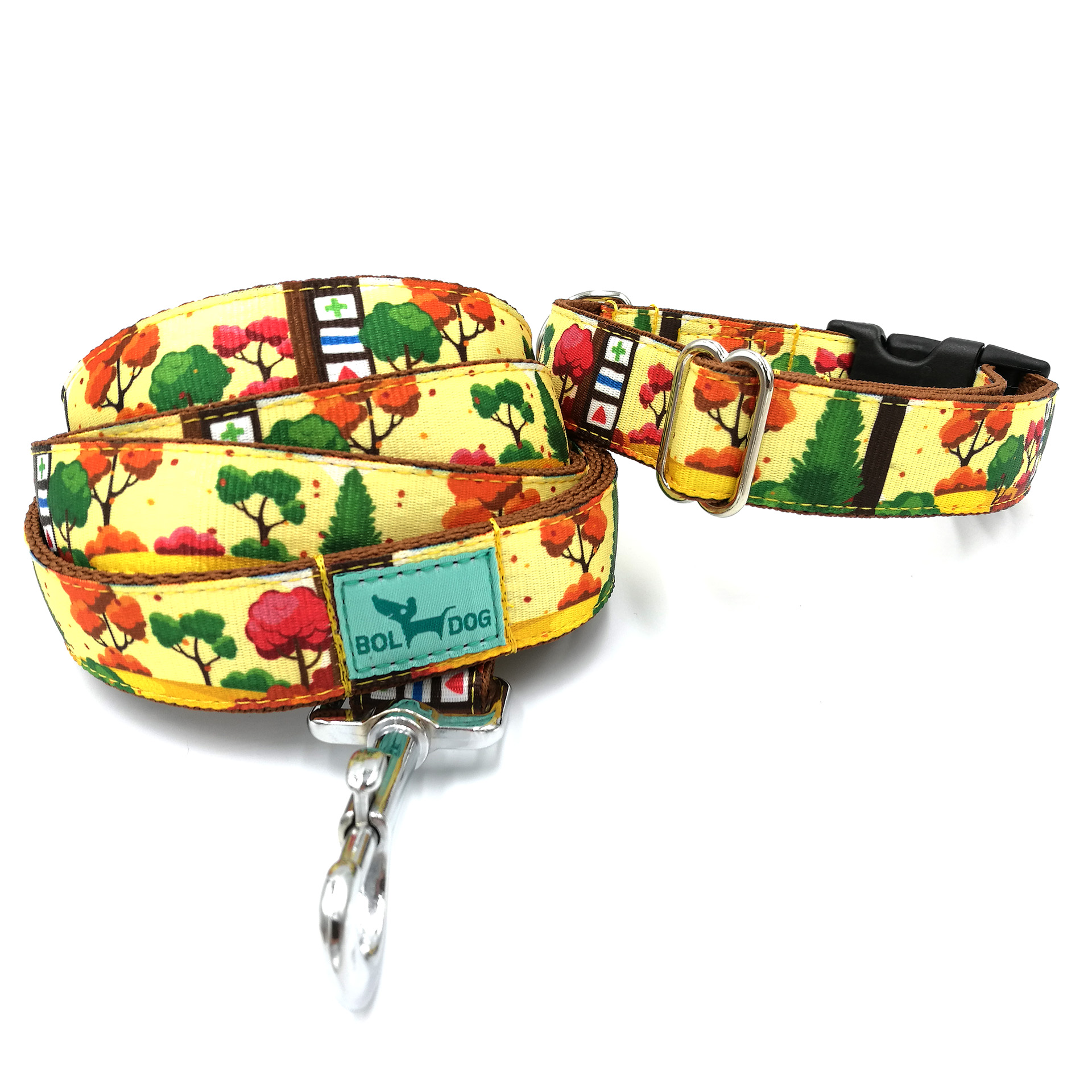 forest leash and collar