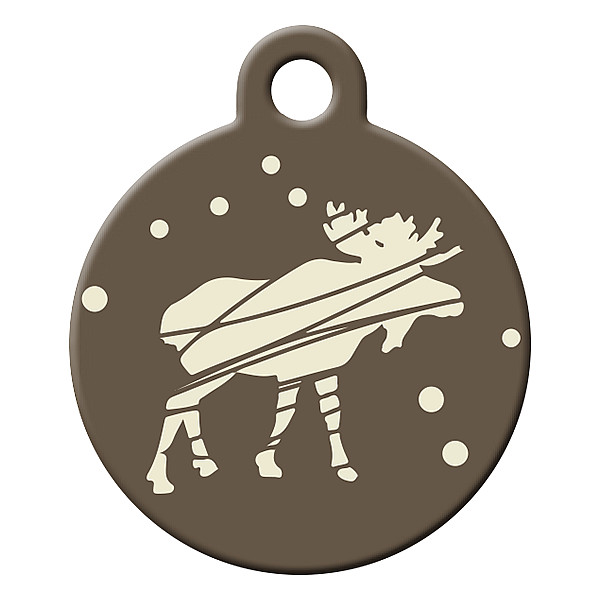 Tundra dog ID tag