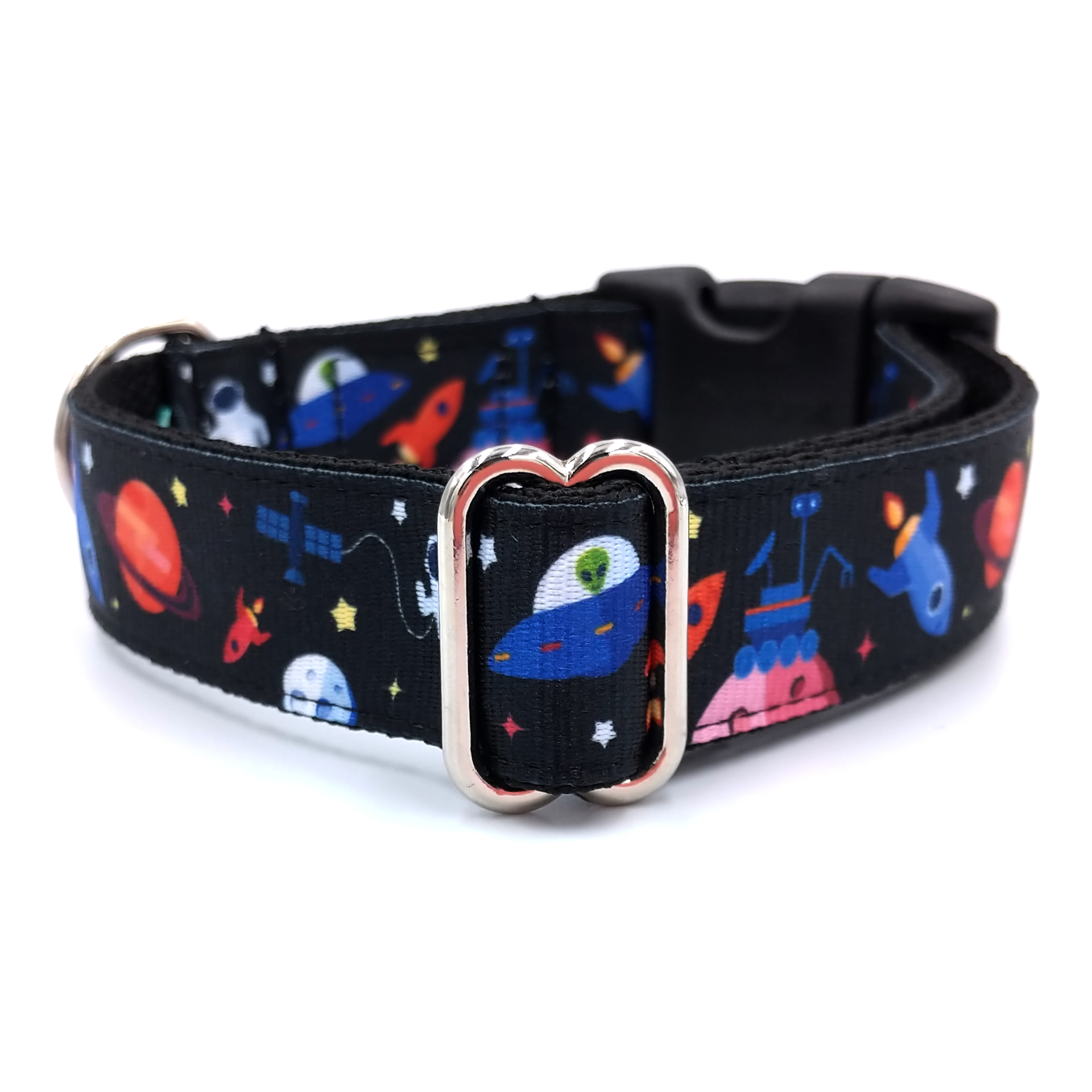 Astronaut dog collar