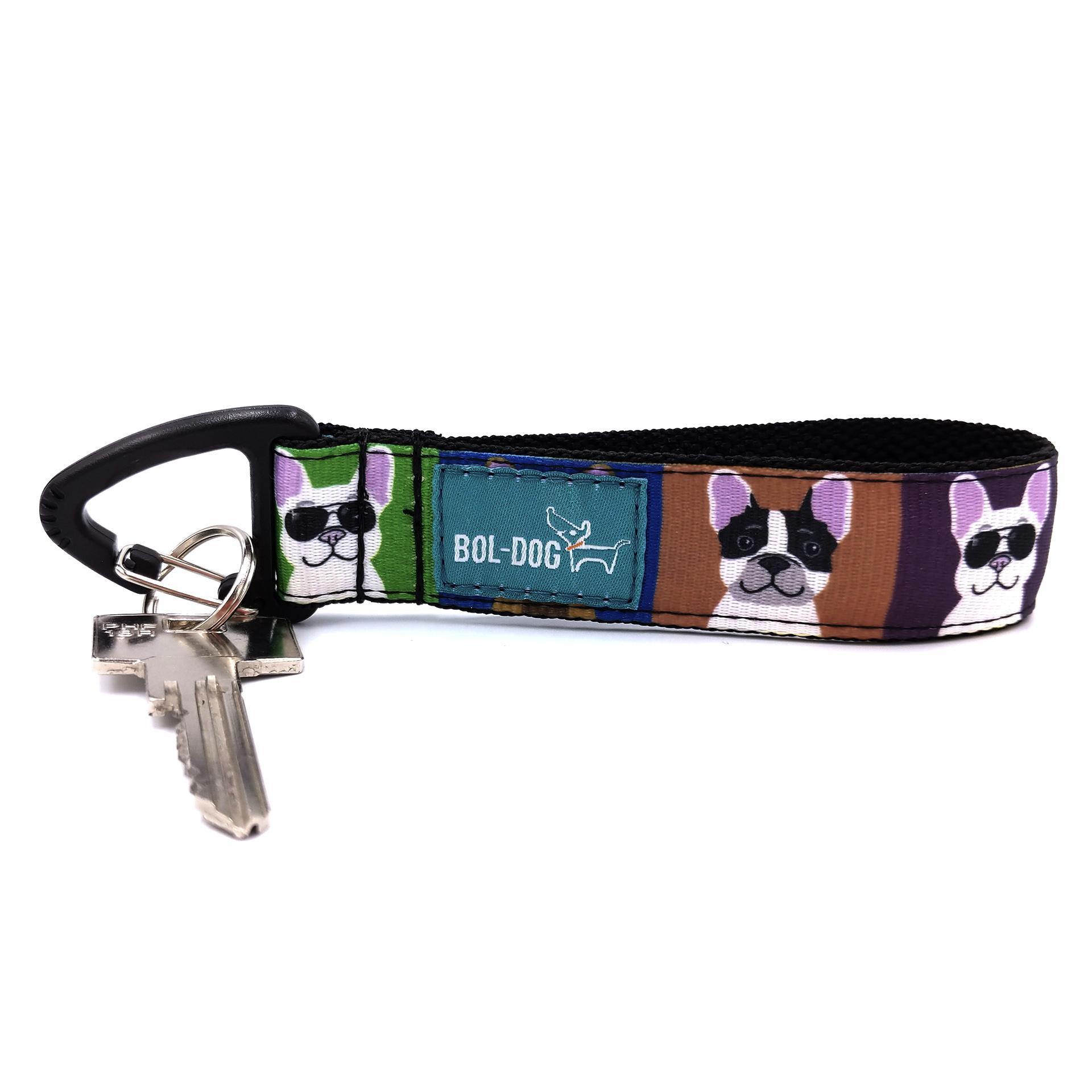 Bulldog love key holder