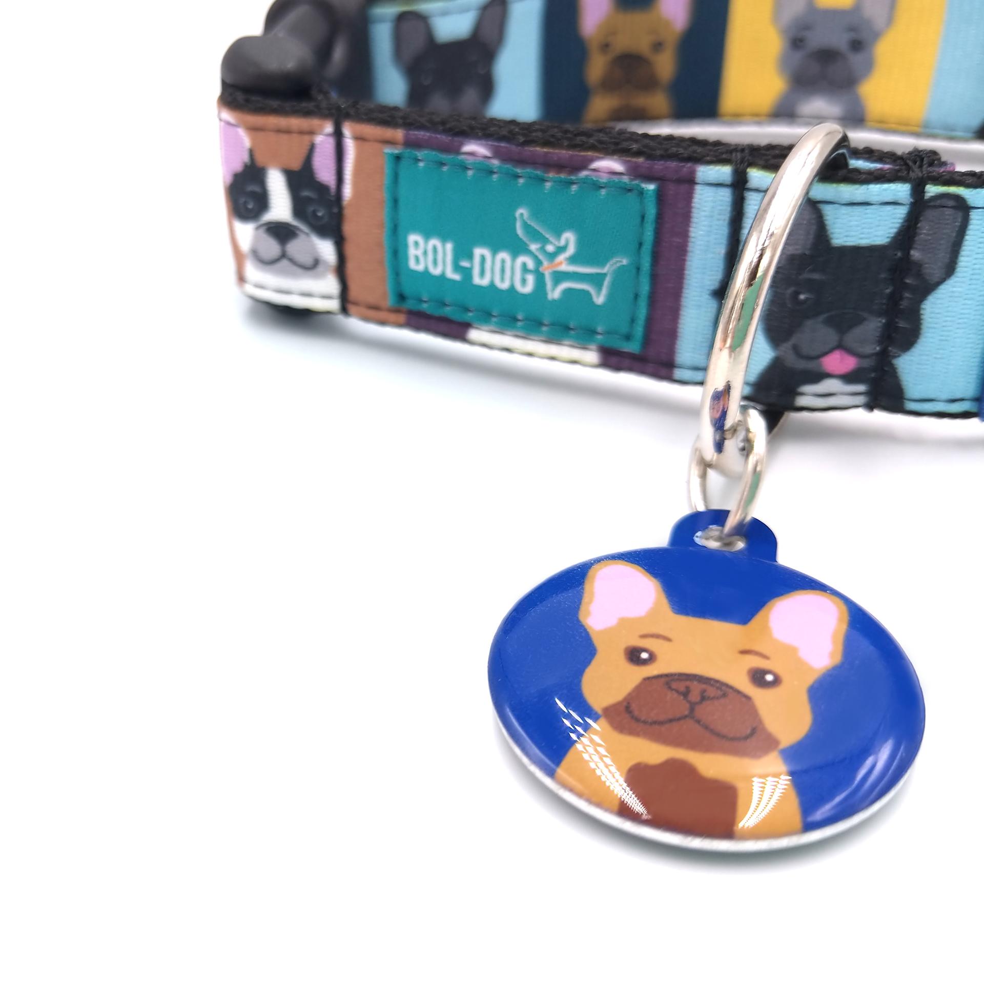 francia bulldog kutyabiléta