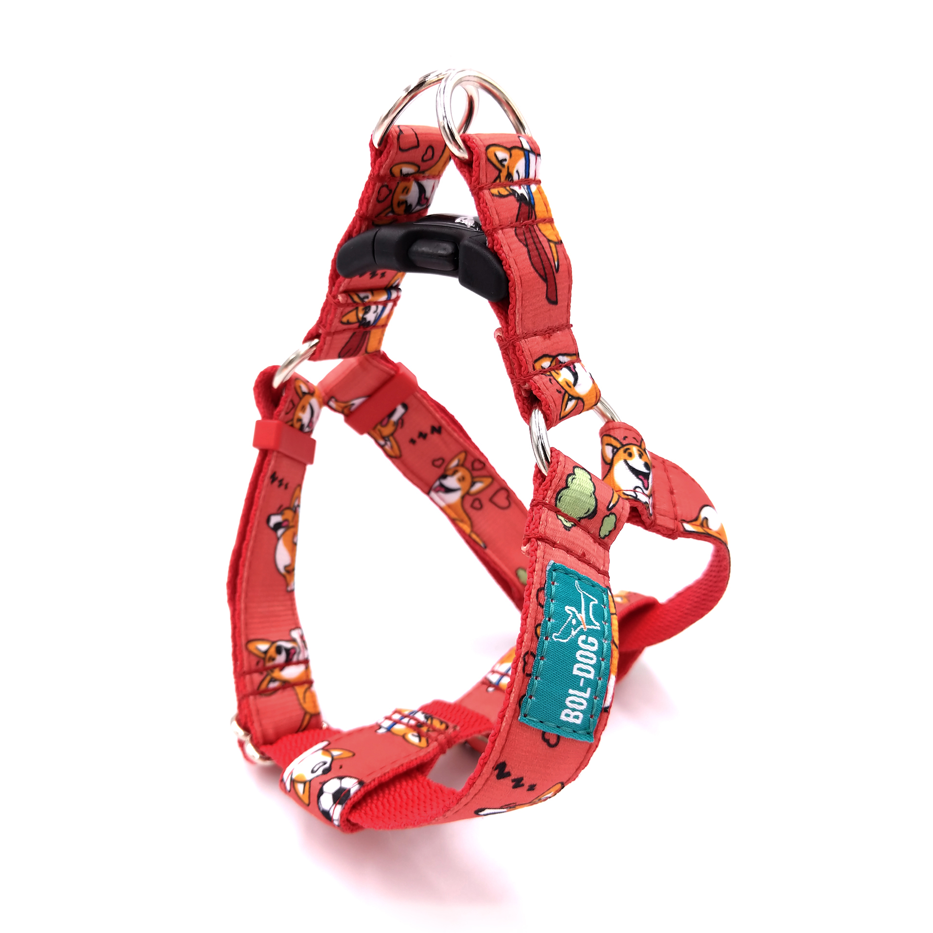 Corgi love dog harness