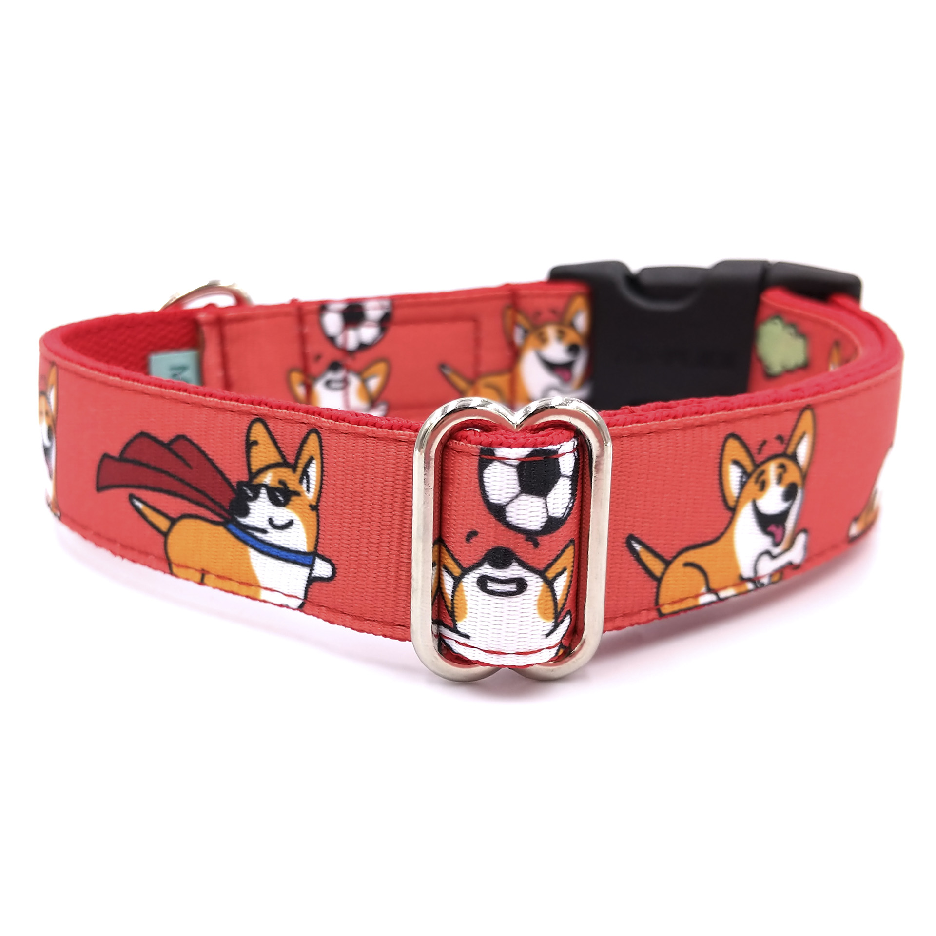Corgi love dog collar