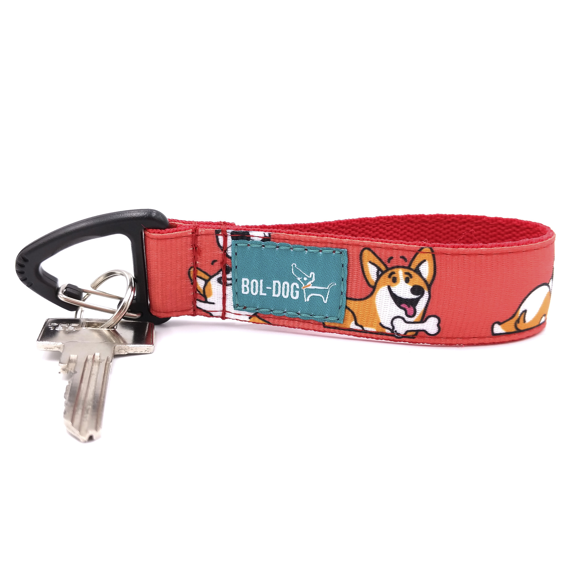Corgi love key holder