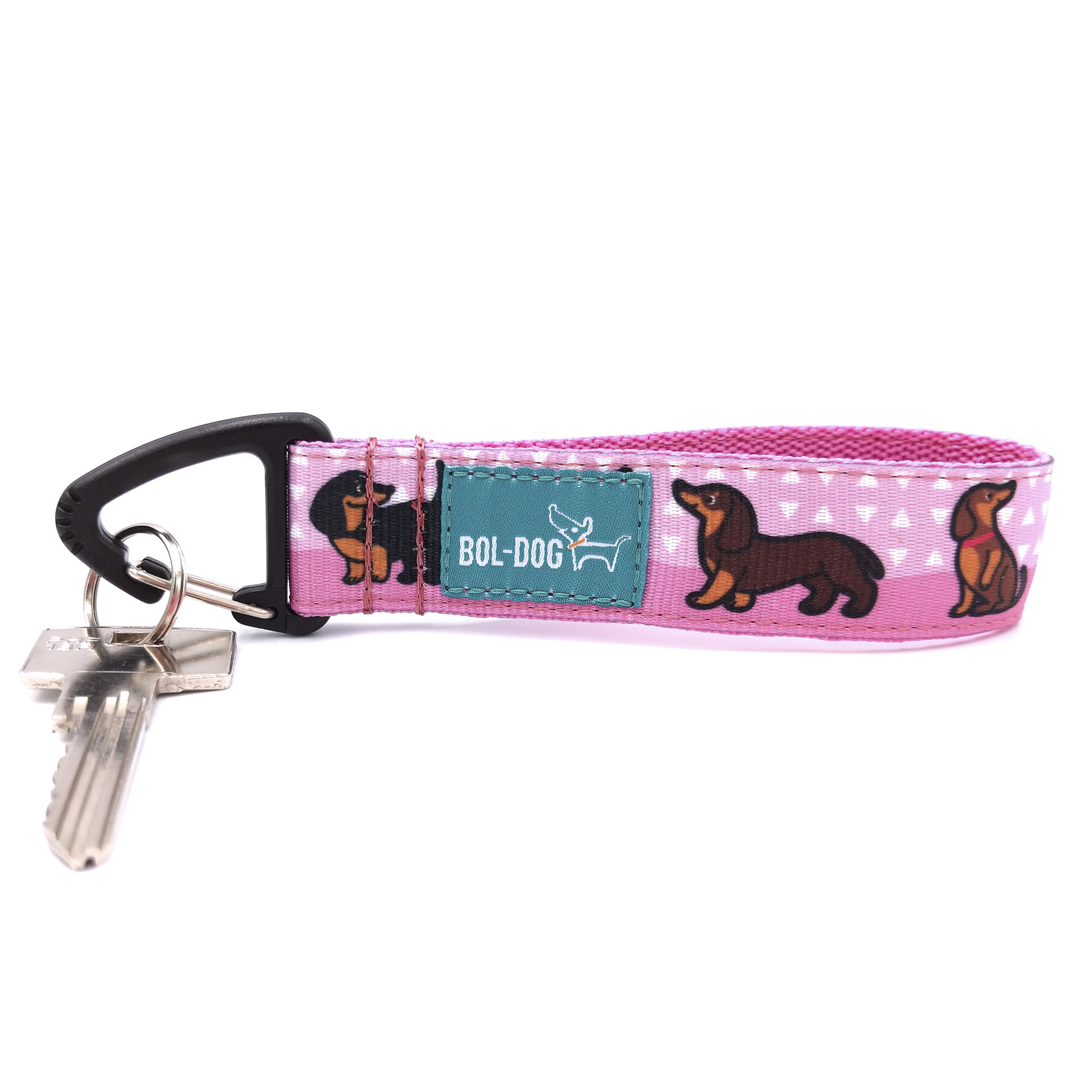 Doxie girl key holder
