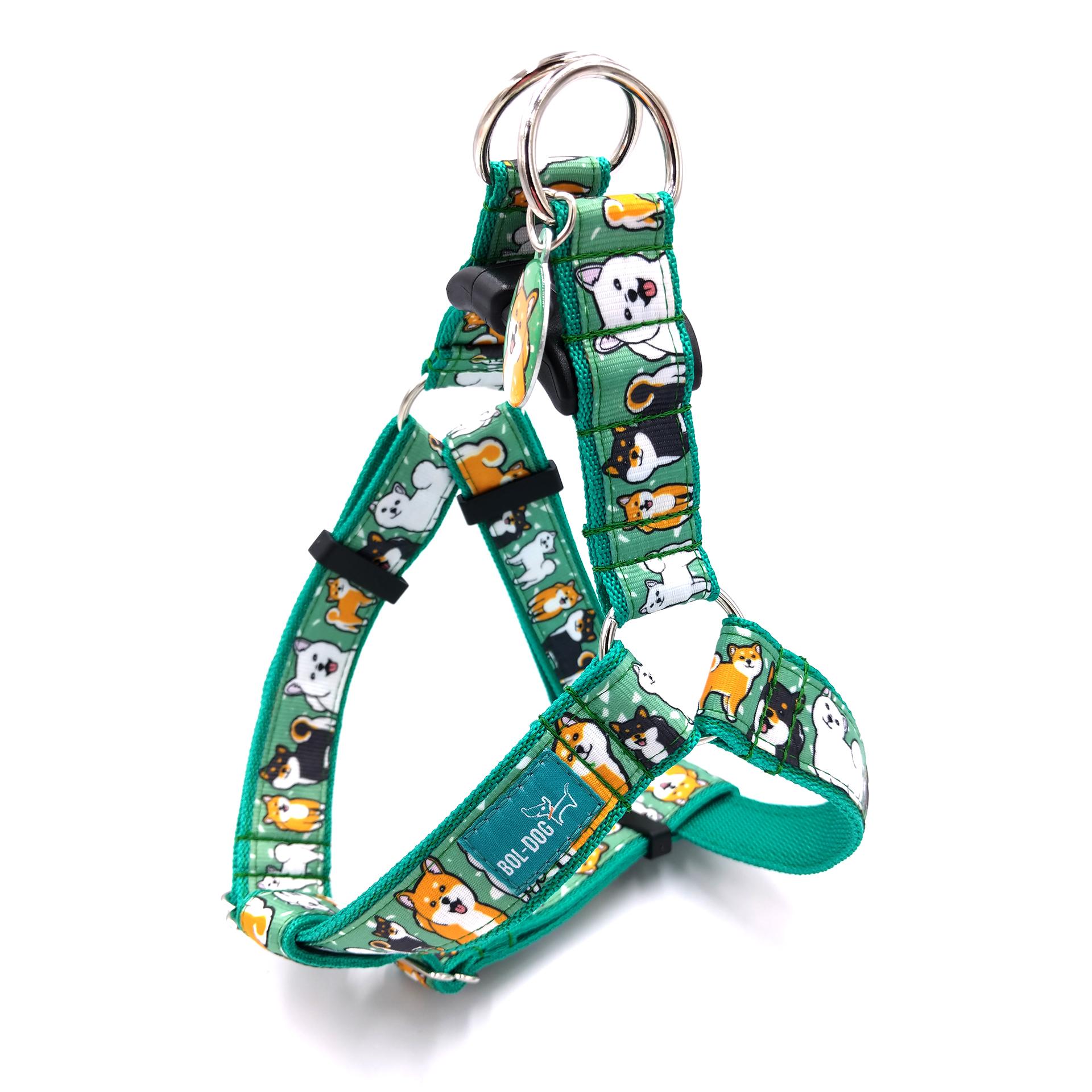 Shiba dog harness