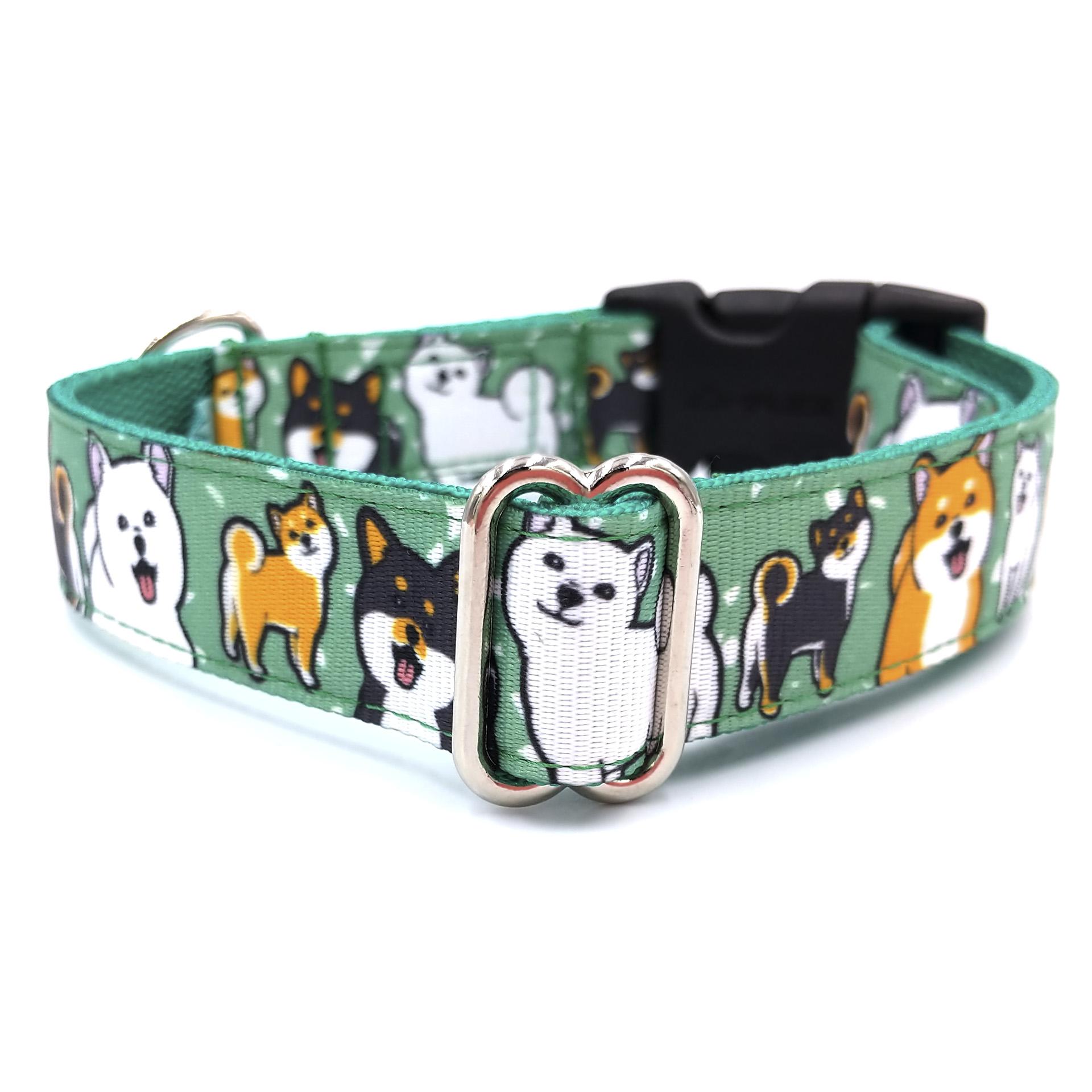 Shiba dog collar