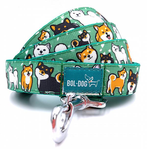 Shiba dog leash
