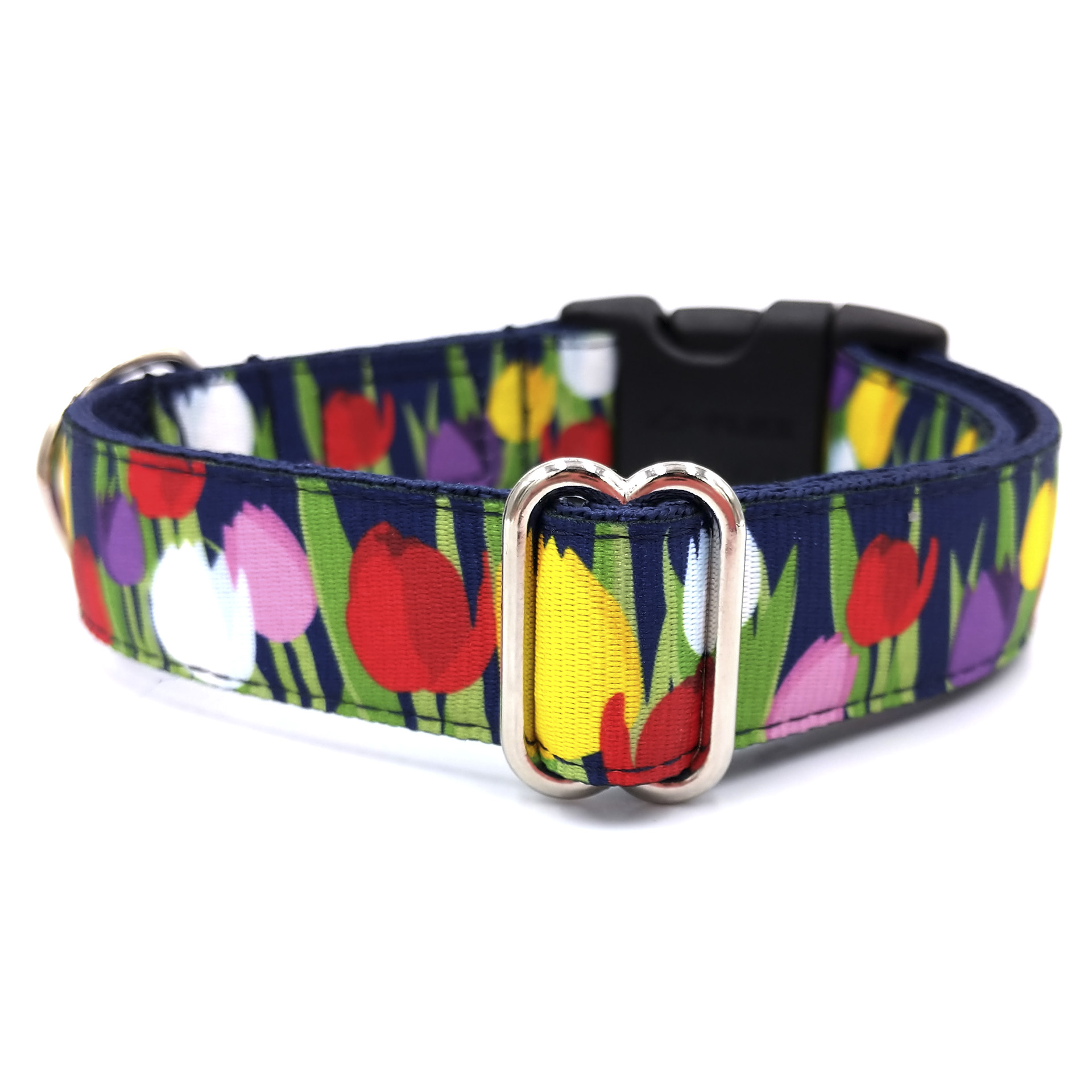 Tulip dog collar