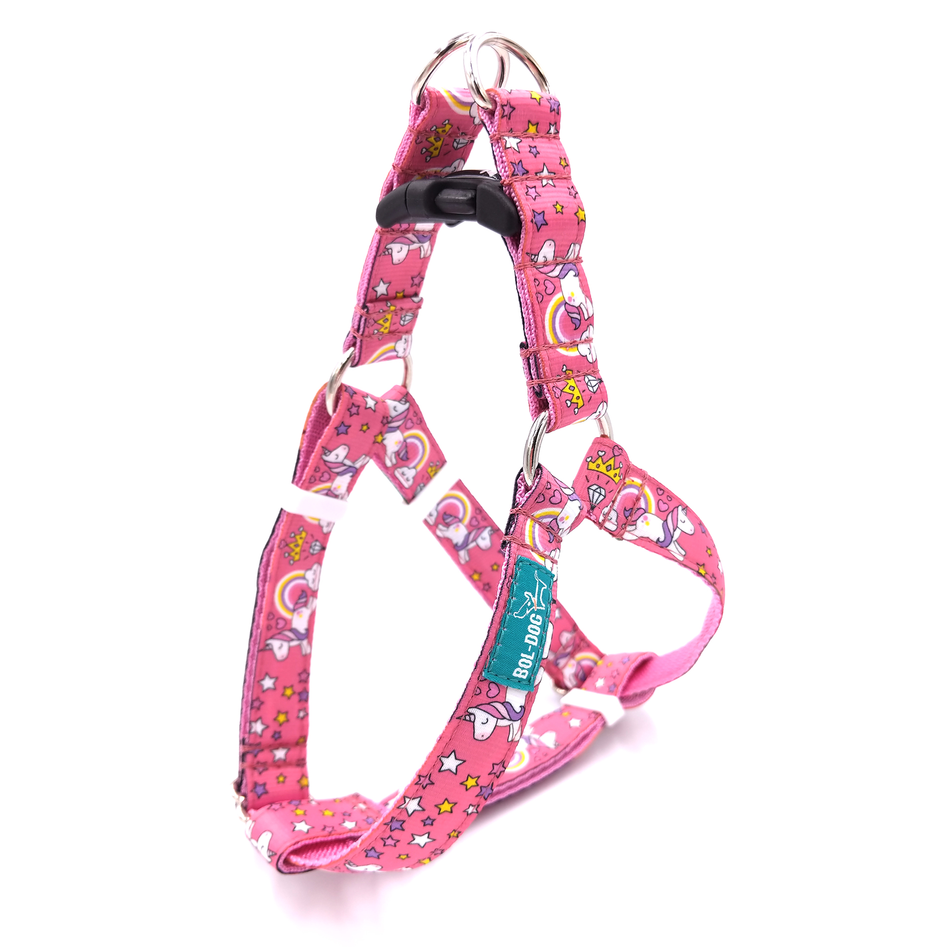 Unicorn dog harness
