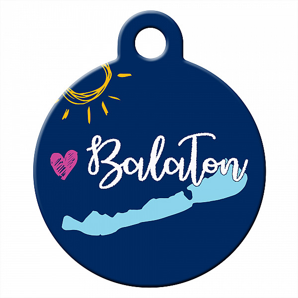 Lake Balaton dog ID tag