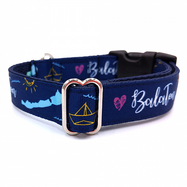 Lake Balaton dog collar