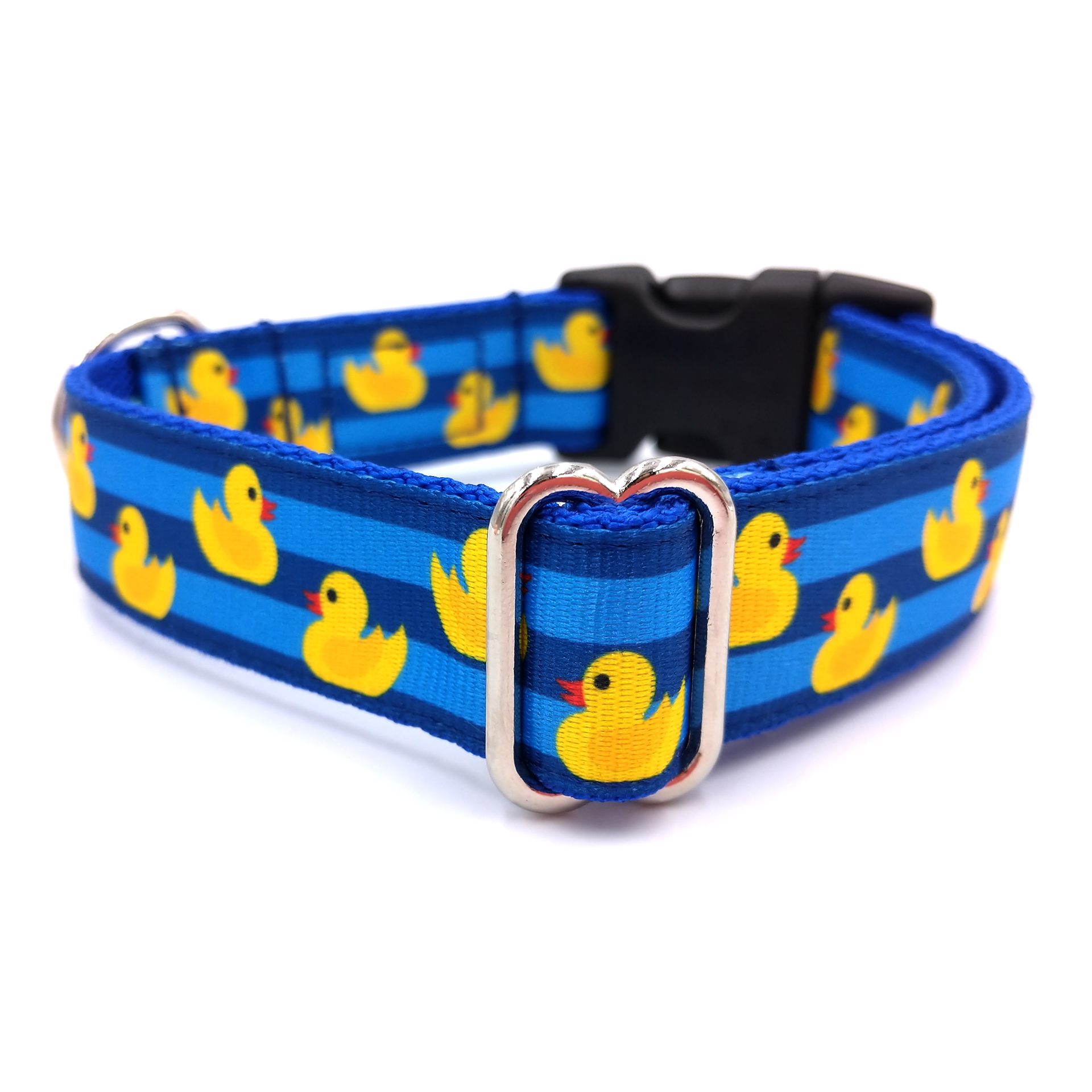 Rubber duck dog collar