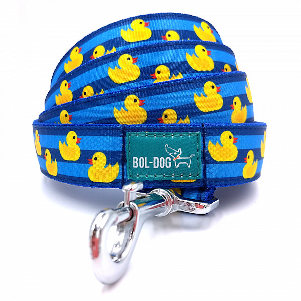 Rubber duck dog leash