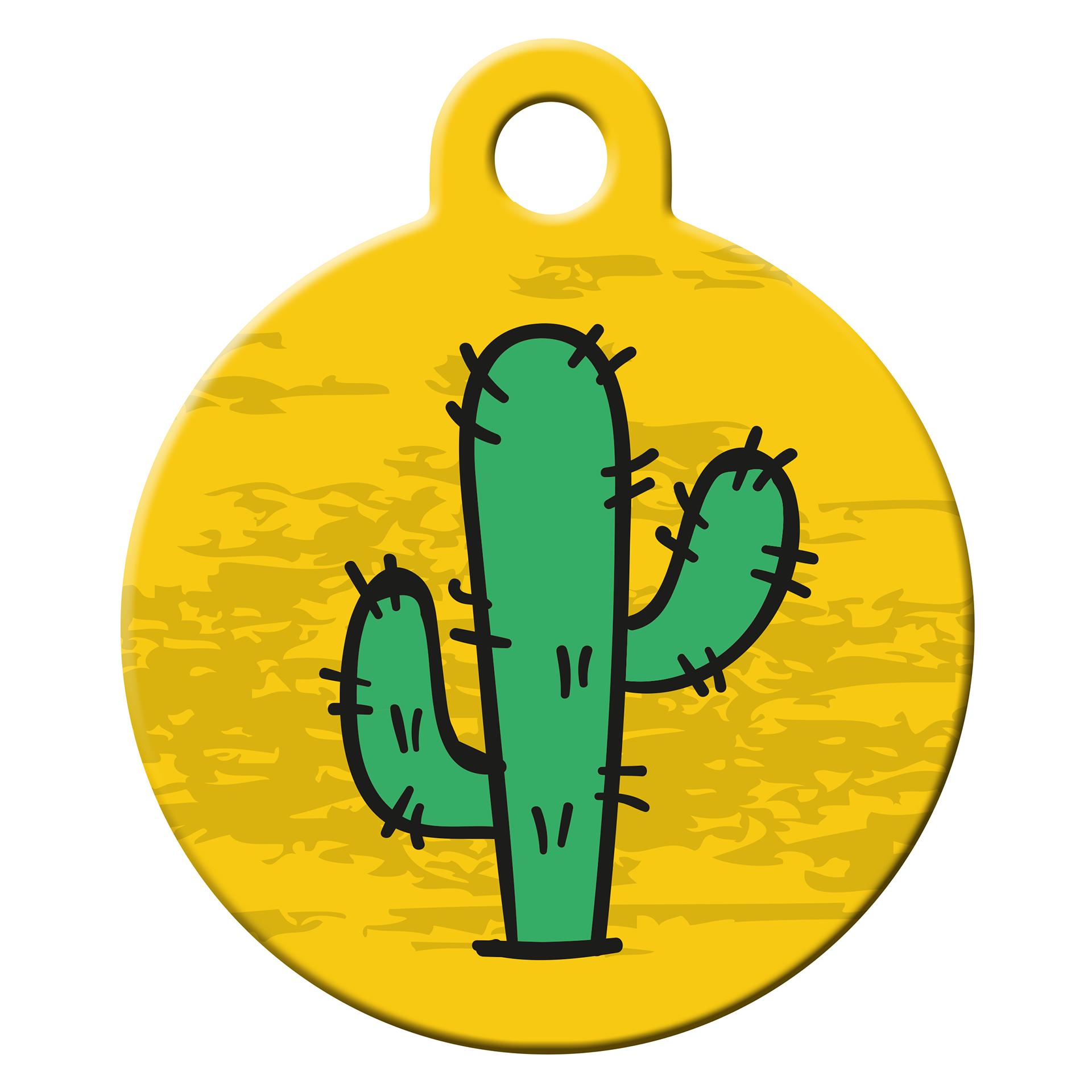 Cactus dog ID tag
