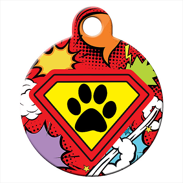 Superdog piros kutyabiléta