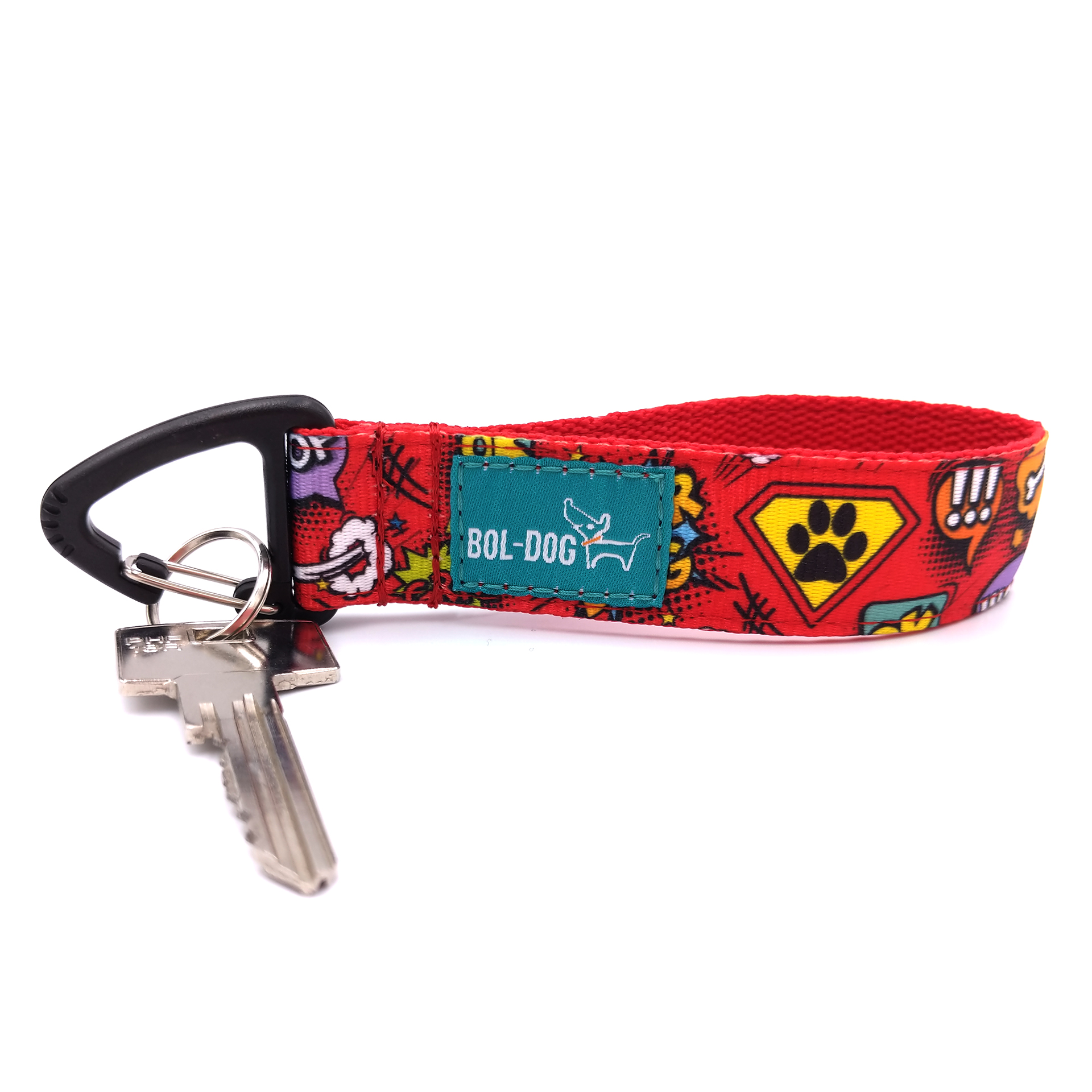 Superdog red key holder
