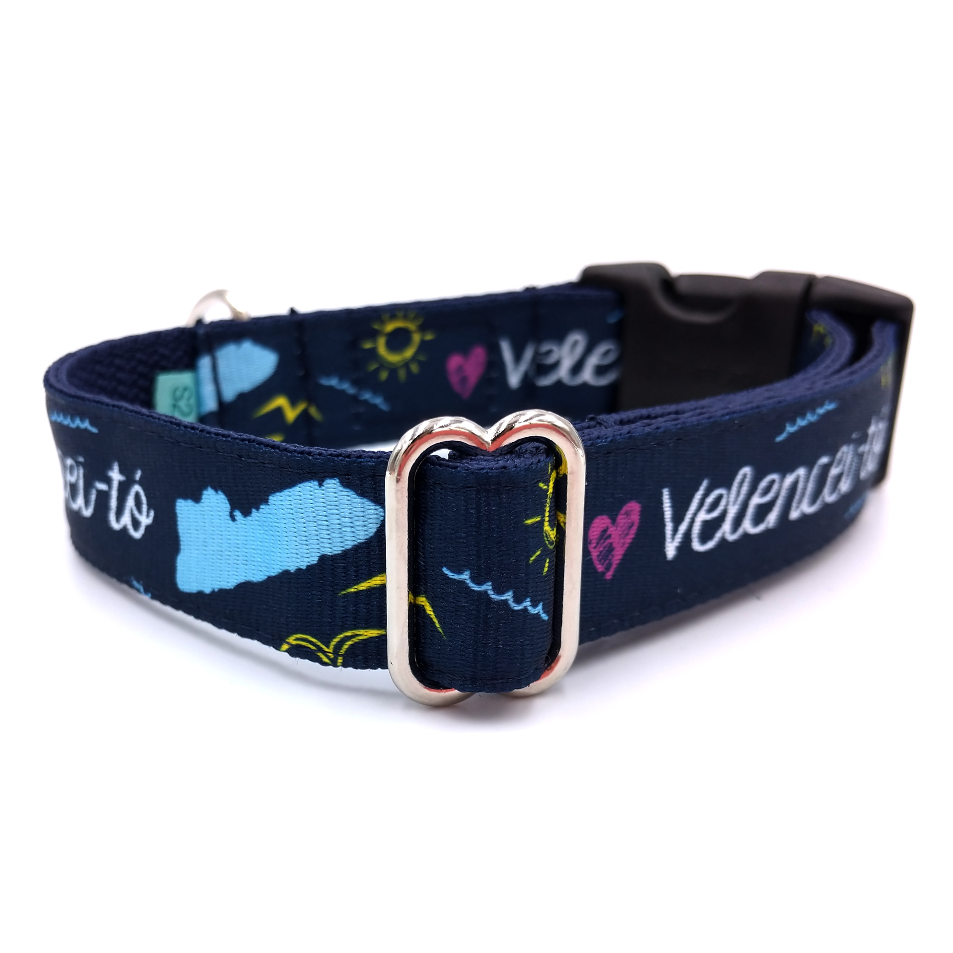 Lake Velence dog collar