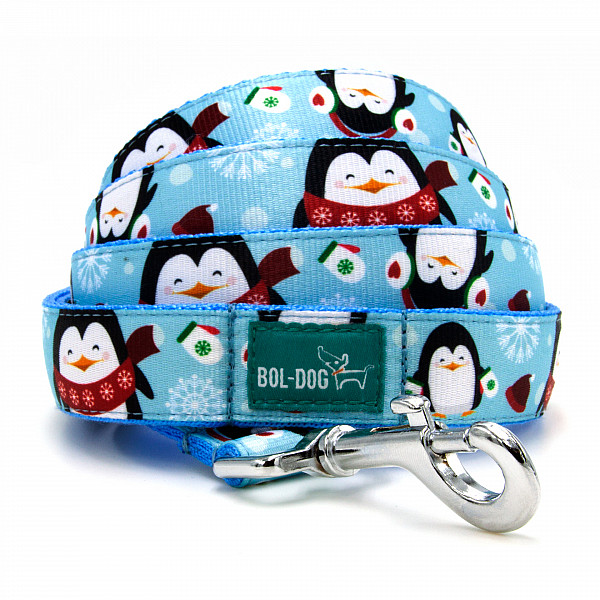 Icy penguin leash