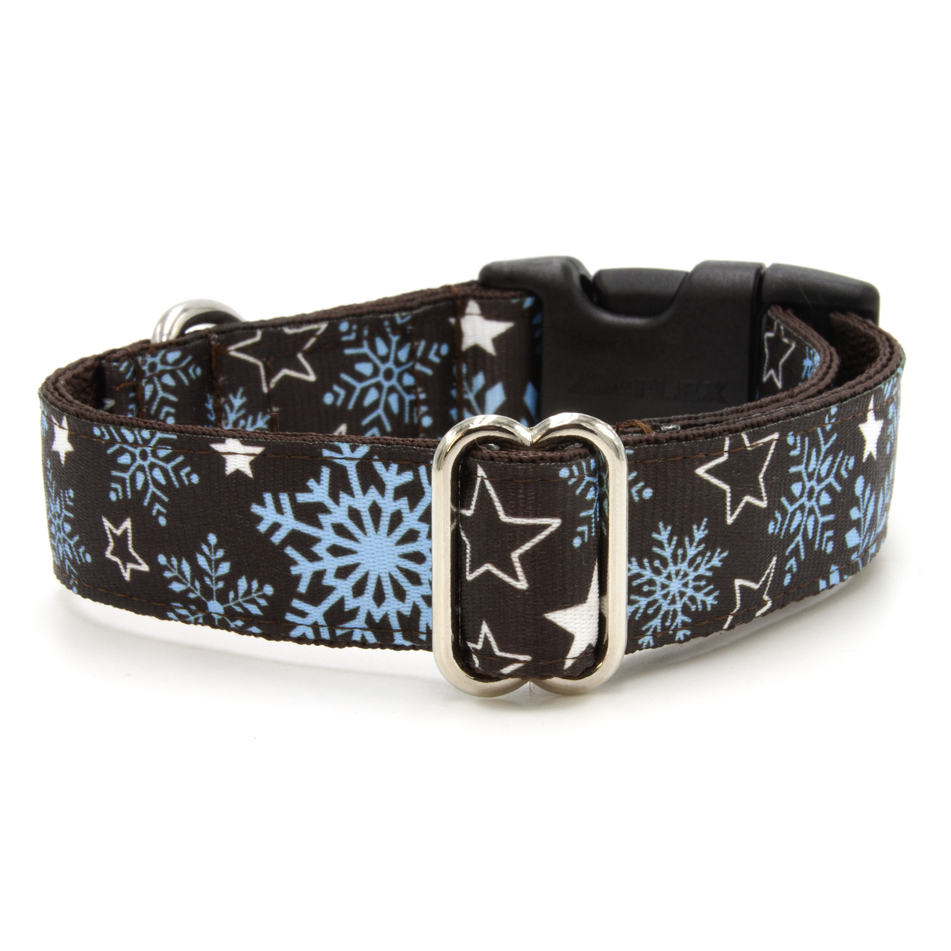Snowfall dog collar