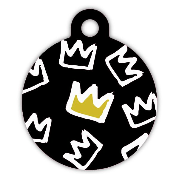 King dog ID tag