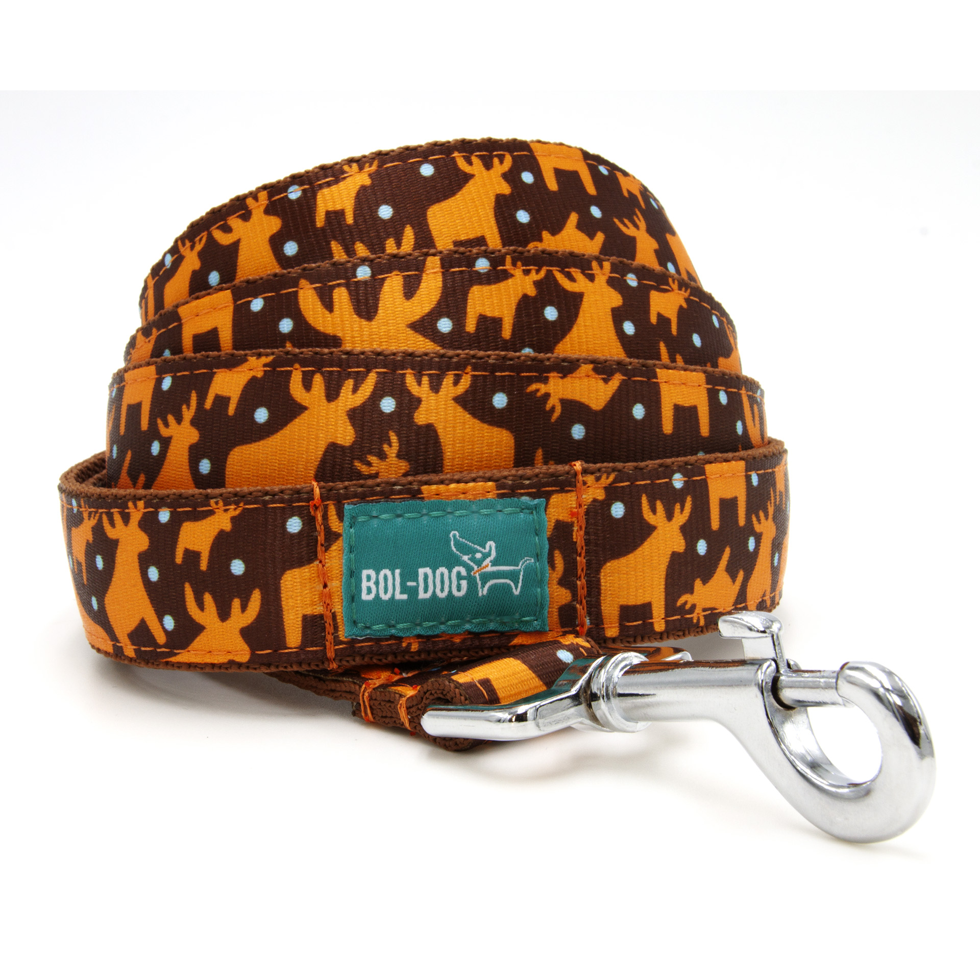 Honey deer dog leash