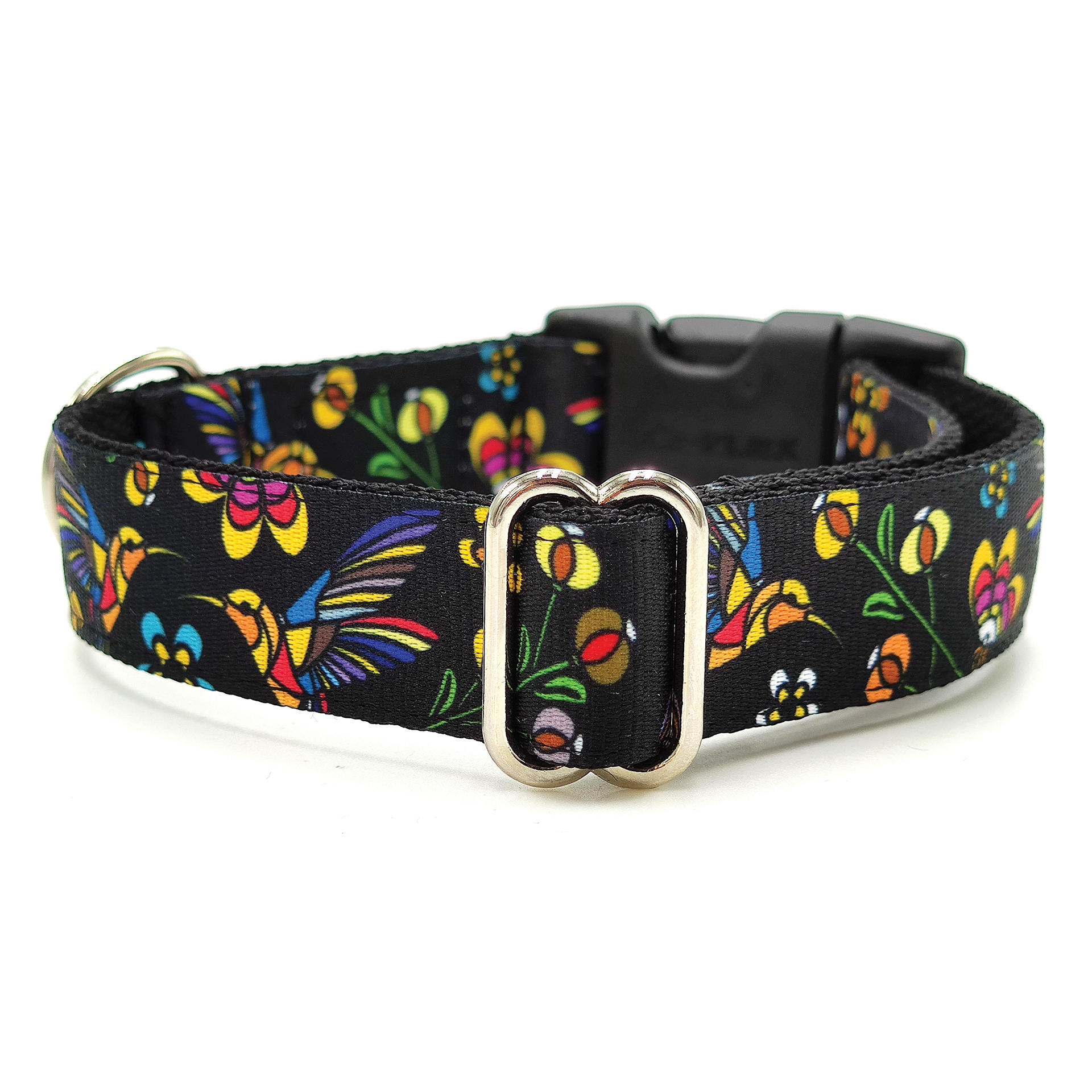 Hummingbird dog collar