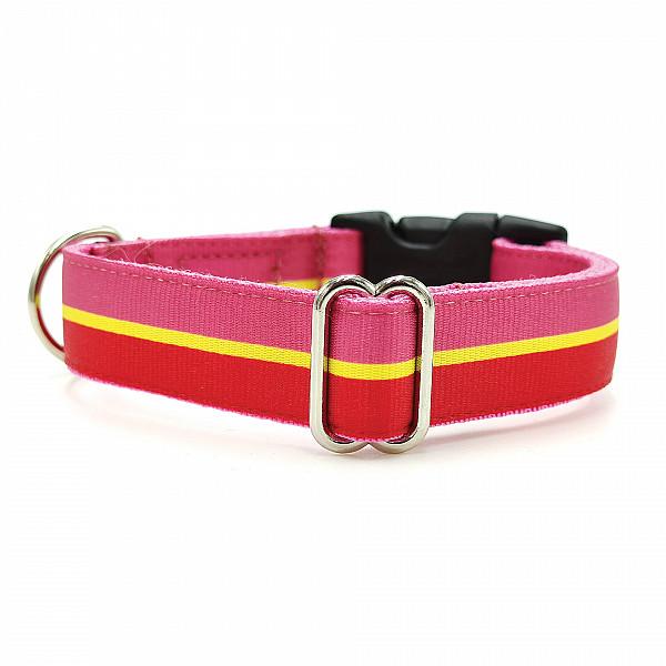 Pinkred collar
