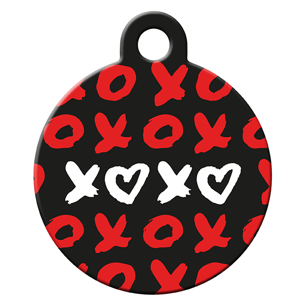 Xoxo dog ID tag