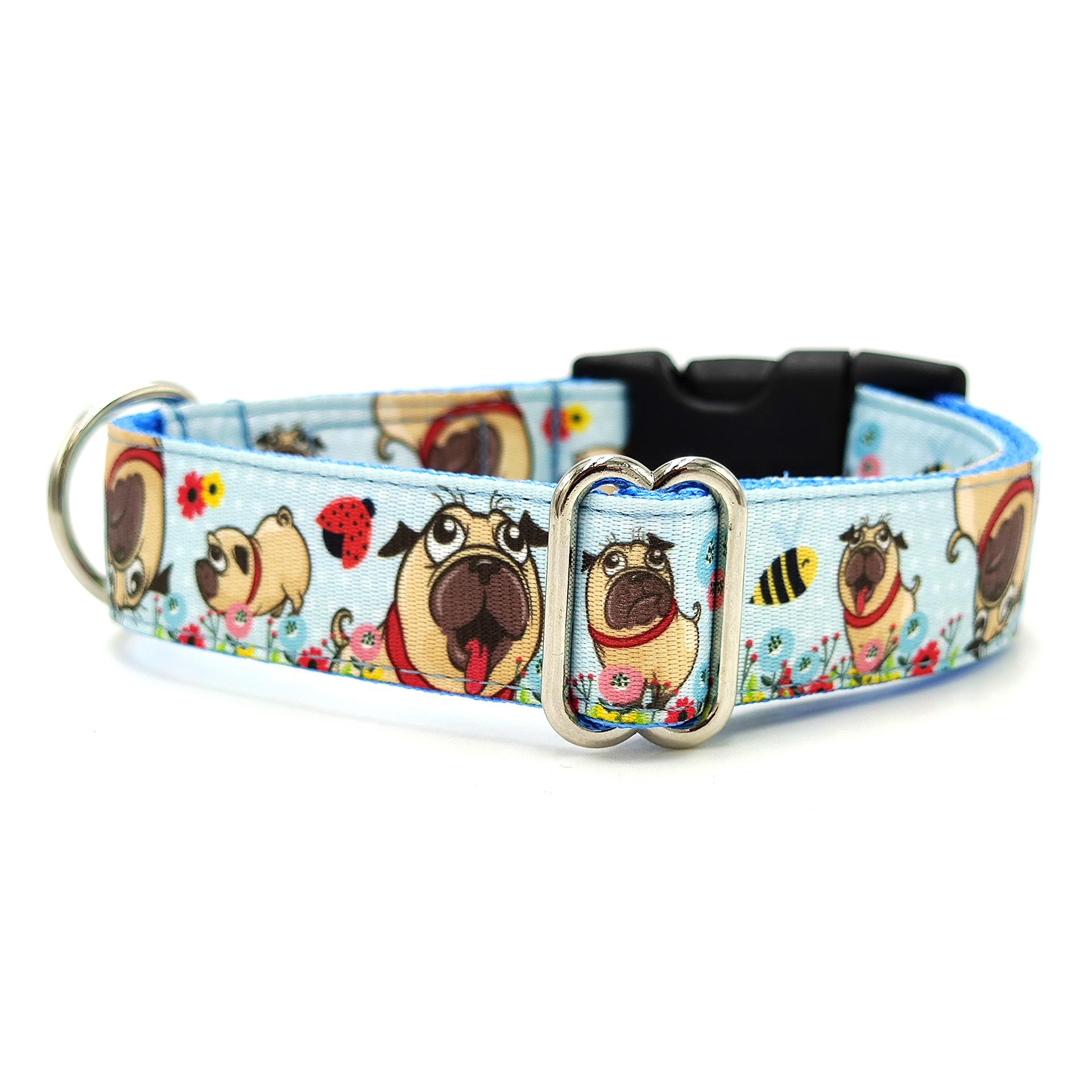 Pug dog collar