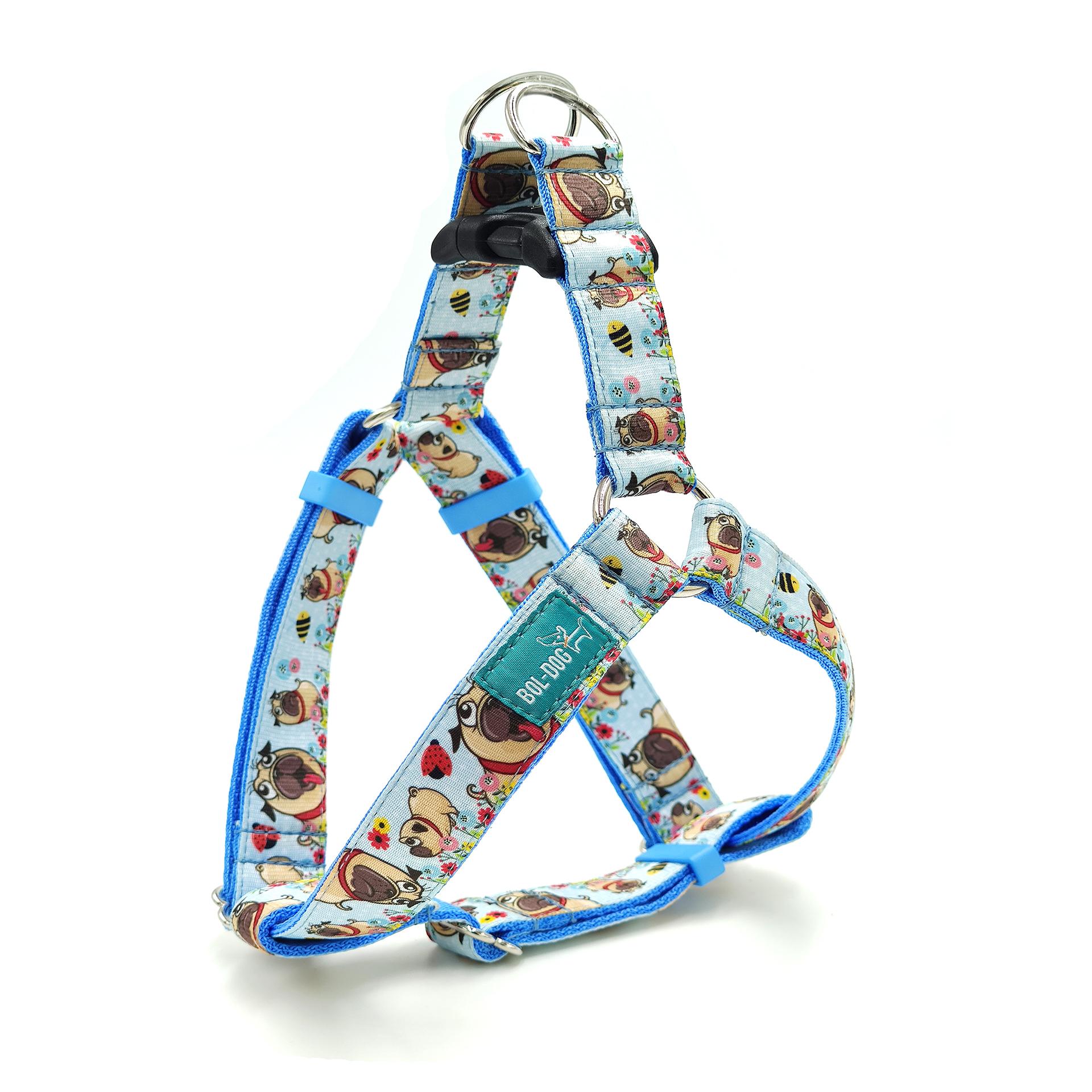Pug dog harness