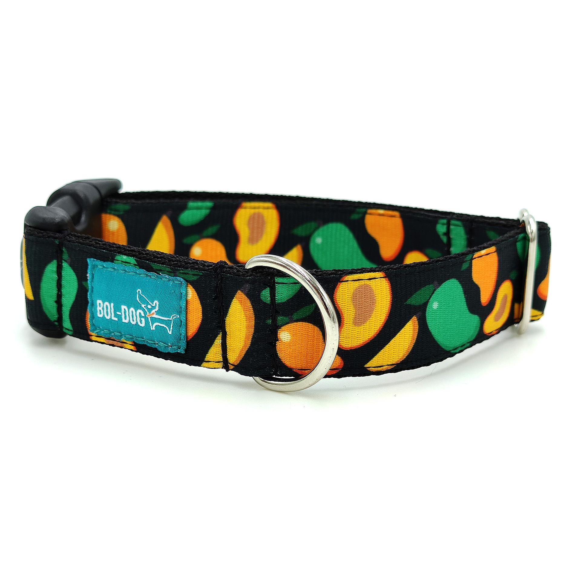 mangó mintás nyakörv