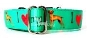 I LOVE MY VIZSLA Bol-Dog kutyanyakörv